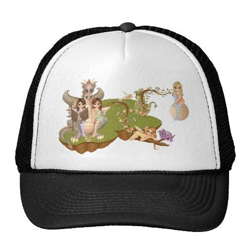 Faery Land Friends Pixel Art Trucker Hat