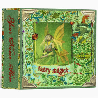 FAERY MAGICK BOOK of SHADOWS BINDER