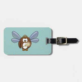 faery owl tags for luggage
