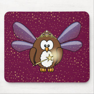 faery owl mouse pad