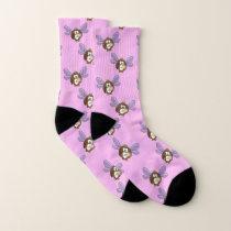 faery owl - socks