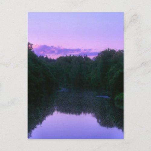 Faery river postcard