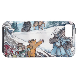 Faery Snowball Fight iPhone SE/5/5s Case