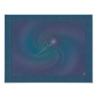 Faery Wand Abstract Art Poster