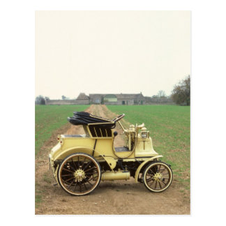 Faetón 1897 de Daimler de la obra clásica Postales