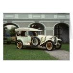 Faetón 1913 de Mercedes de la obra clásica Tarjeton