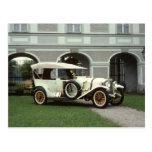 Faetón 1913 de Mercedes de la obra clásica Tarjetas Postales