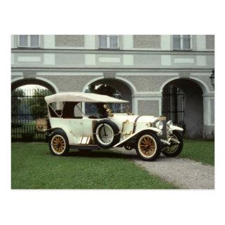 Faetón 1913 de Mercedes de la obra clásica Tarjeta Postal
