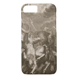 Faetón pegado abajo por el rayo de Júpiter, 1731 Funda iPhone 7