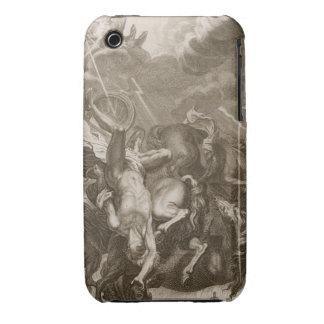Faetón pegado abajo por el rayo de Júpiter, 1731 Funda Para iPhone 3