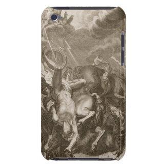 Faetón pegado abajo por el rayo de Júpiter, 1731 Funda Para iPod