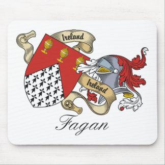 Fagan Family Crest Mouse Mats