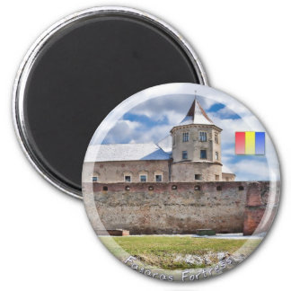 Fagaras Fortress 2 Inch Round Magnet