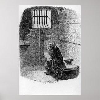 Fagin en la célula condenada poster