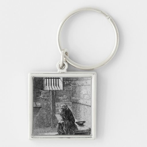 Fagin in the Condemned Cell Keychains
