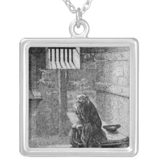 Fagin in the Condemned Cell Silver Plated Necklace