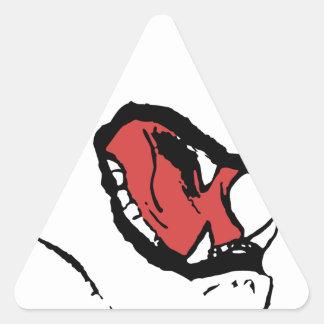 Fags Triangle Sticker
