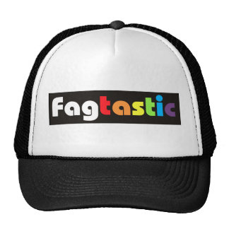 Fagtastic Banner Caps Hat