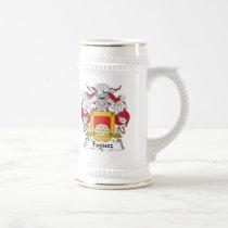 Faguez Family Crest Mug