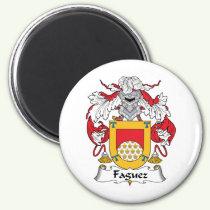 Faguez Family Crest Magnet