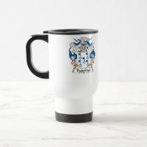 Fagundes Family Crest Mug