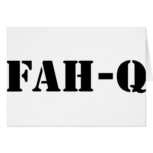 Fah Q Card