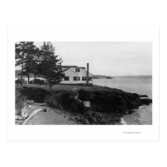 Fahlen's Hope Island Caf� in San Juan Islands Postcard
