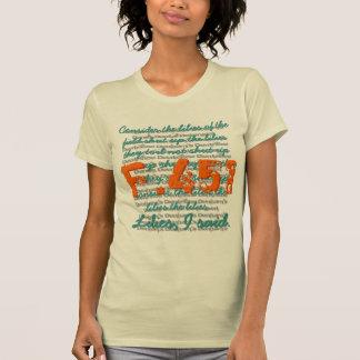 Fahrenheit 451 shirt