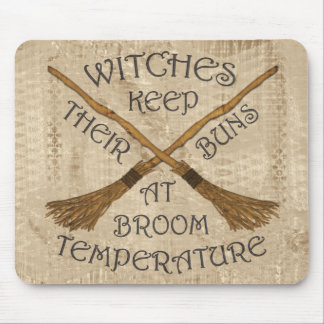 Fahrenheit Broom_Buns Mouse Pad