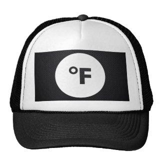 Fahrenheits Pictograph Trucker Hat