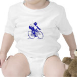 Fahrrad Radler bicycle bike rider Baby Strampler