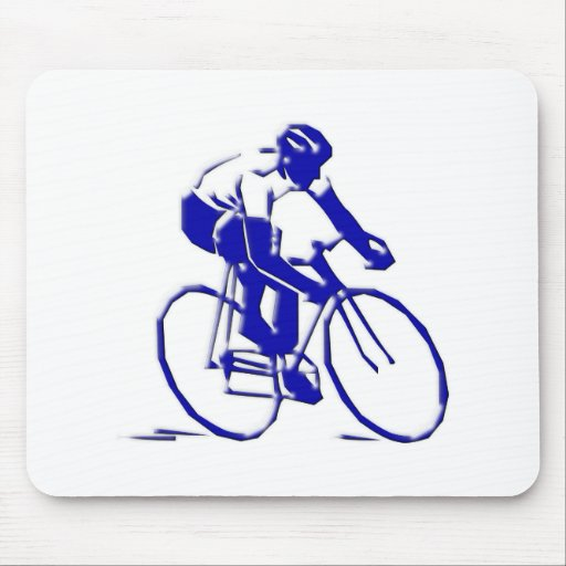 Fahrrad Radler bicycle bike rider Mauspads