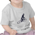 Fahrrad Radlerin bicycle bike rider T-shirt