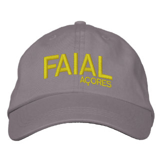 Faial* Açores Personalized Hat Embroidered Hats