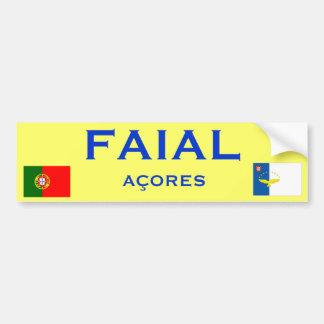 Faial Azores - Bumper Sticker
