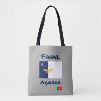 Faial Azores Custom Tote Bag