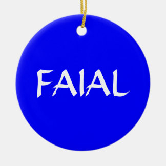 FAIAL* Custom Christmas Ornament
