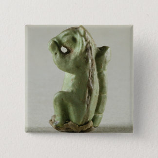 Faience squirrel, Harappa, 2300-1750 BC Button