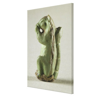 Faience squirrel, Harappa, 2300-1750 BC Canvas Print