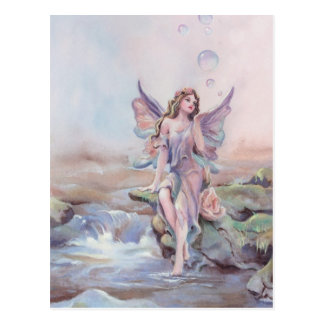 FAIERIE BUBBLES by SHARON SHARPE Post Cards