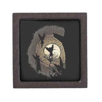 Faieries in The Moonlight Keepsake Box Premium Jewelry Boxes