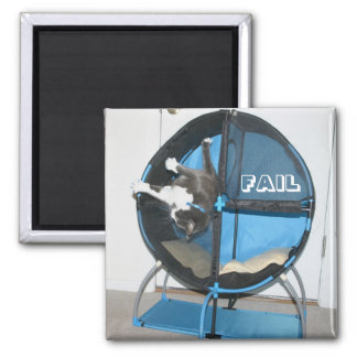 FAIL 2 INCH SQUARE MAGNET