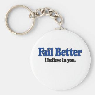 Fail Better Keychain