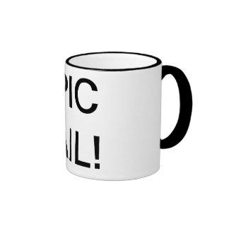 Fail Cup Ringer Coffee Mug