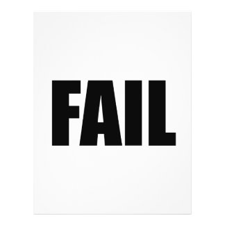 FAIL. FLYER