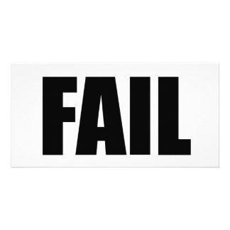 FAIL. PHOTO CARDS