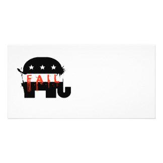 Fail Republican Fail Custom Photo Card