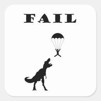 Fail Square Sticker