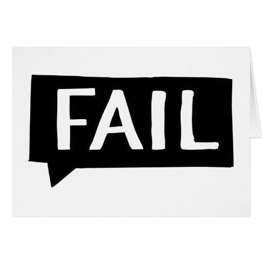 Fail Tarjeta