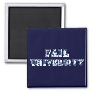 Fail University 2 Inch Square Magnet